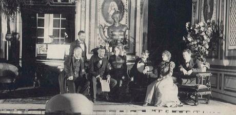 Herman Bang i Teatermuseet i Hofteatret