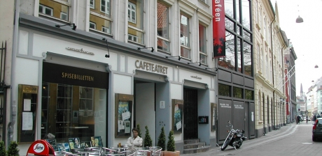 Cafe Teatret i Teatermuseet i Hofteatret