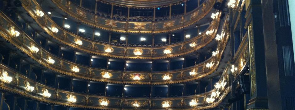 Europæiske teaterbygningers kulturhistorie